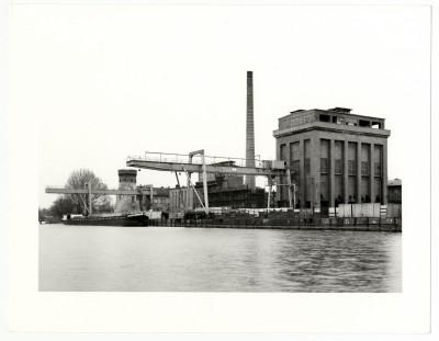 Manfred Hamm, Gaswerk Potsdam mit Koksseparation und Zichorienmühle, 1995; Potsdam Museum – Forum für Kunst und Geschichte