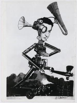 UMBO, Der rasende Reporter, Egon Erwin Kisch (1885-1948), 1926, Berlinische Galerie © Phyllis Umbehr / Galerie Kicken Berlin / VG BILD-KUNST, Bonn 2016