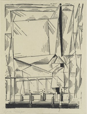Lyonel Feininger, Gelmeroda, aus der: Meistermappe des Staatlichen Bauhauses 1923, Klassik Stiftung Weimar © VG Bild-Kunst, Bonn 2016