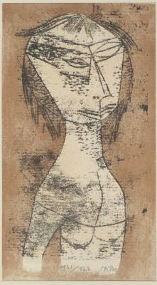 Paul Klee, Die Heilige vom inneren Licht, aus der Mappe Neue Europäische Graphik: Erste Mappe - Meister des Staatlichen Bauhauses Weimar, 1921 © Klassik Stiftung Weimar