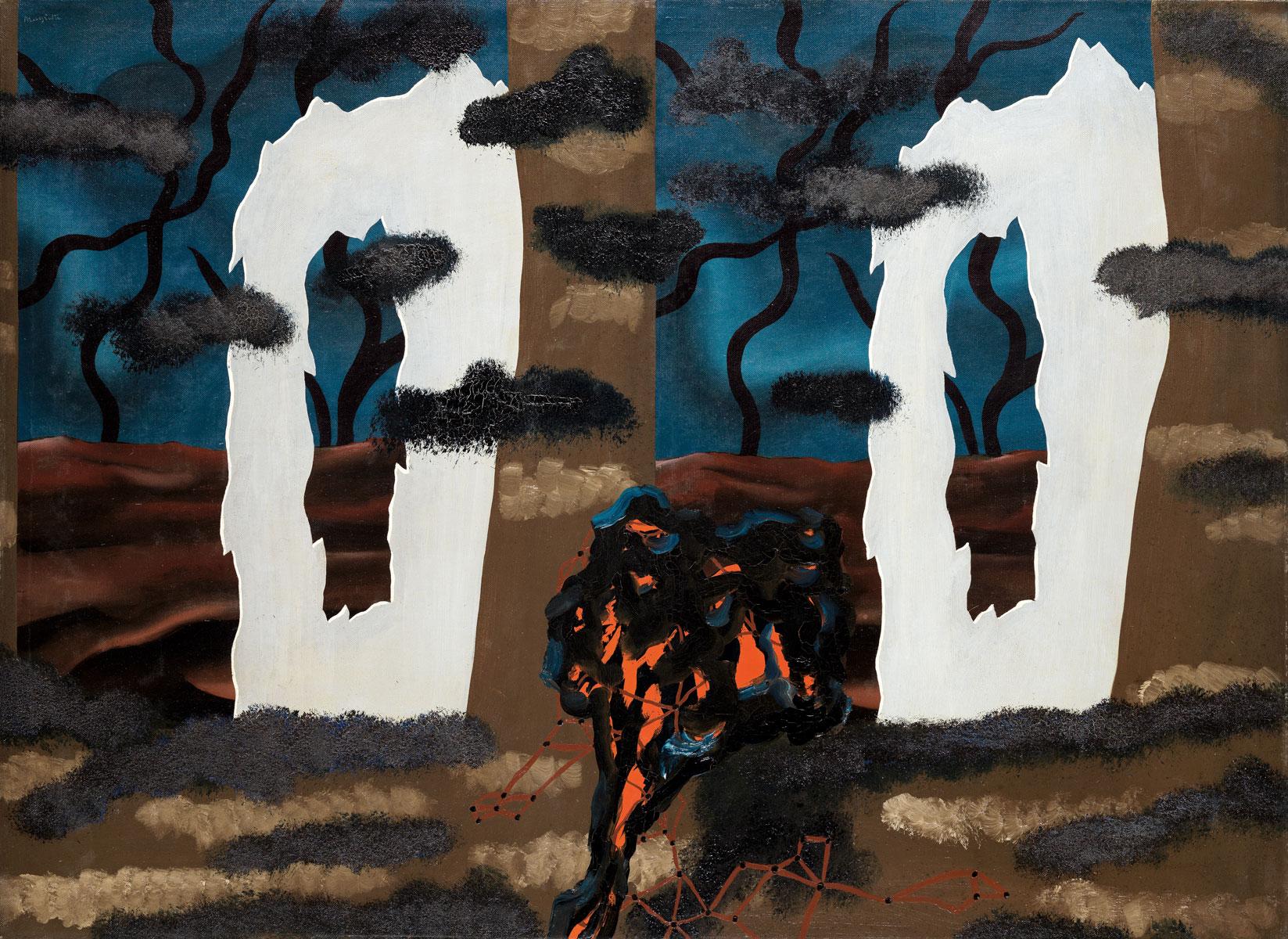René Magritte, Le Goût de L'invisible, 1927, 73,5×100 cm; Staatliche Kunsthalle Karlsruhe © SKK / VG Bild-Kunst, Bonn 2016 / Foto: Fischer/Kohler