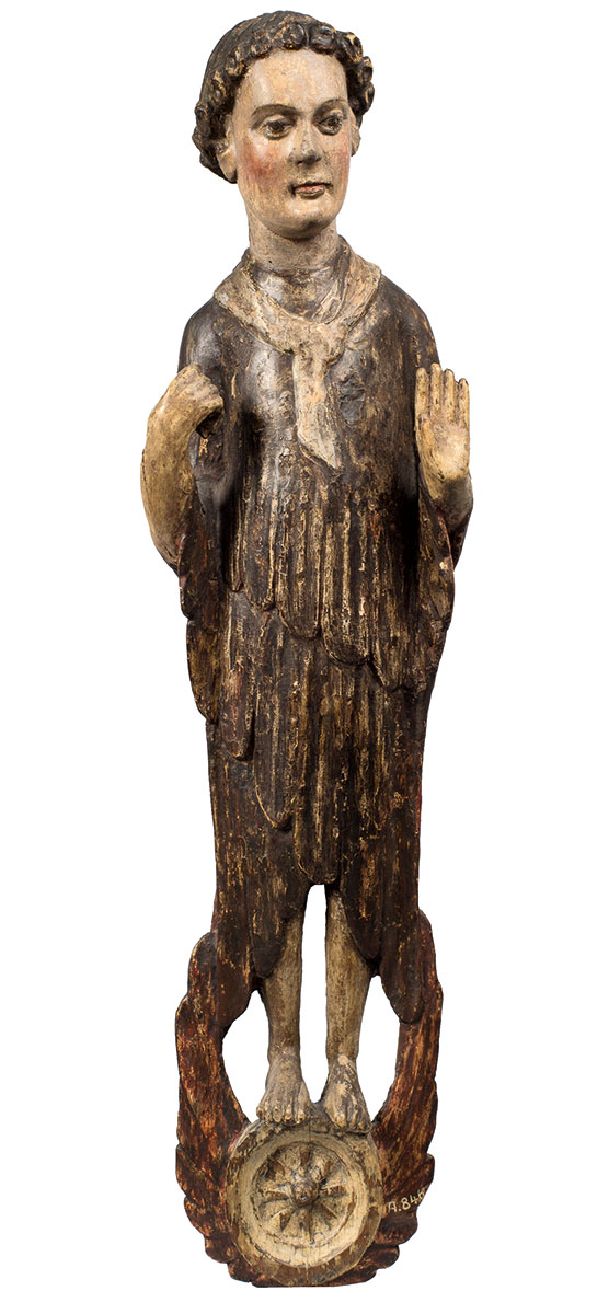 Cherub, um 1230, Höhe 74,5 cm; Museum Schnütgen, Köln © RBA / Foto: M. Mennicken