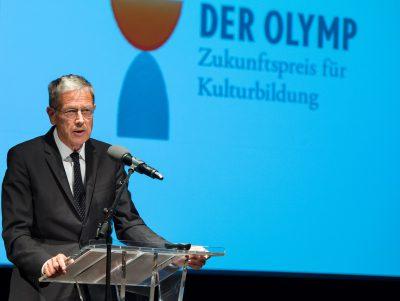 Überbrachte die Glückwünsche der Kultusministerkonferenz: Staatsrat Dr. Michael Voges aus Hamburg; Foto: Stefan Gloede
