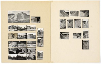 Josef Albers, Tenayuca, Mexiko, 25,7×40,6 cm; Josef Albers Museum Quadrat Bottrop; © The Josef and Anni Albers Foundation / VG Bild-Kunst, Bonn 2017