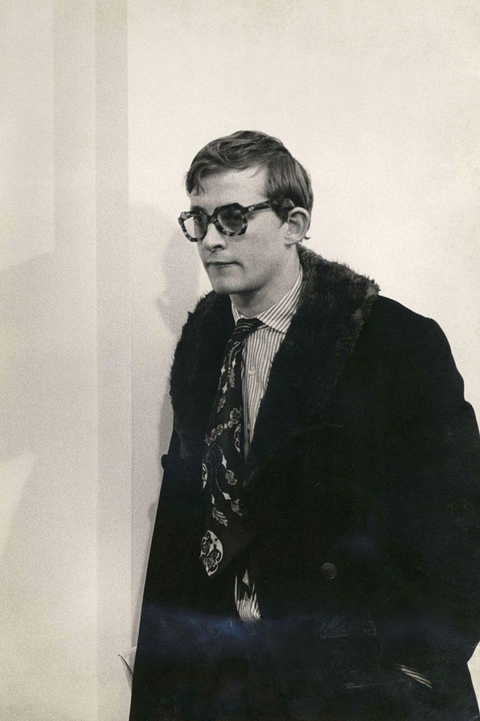 Kasper König 1966 in New York. Als Vermittler von Kunst und Künstlern nach Europa hatte er Dorothee und Konrad Fischer von Anfang an beraten; © Zentralarchiv des internationalen Kunsthandels ZADIK