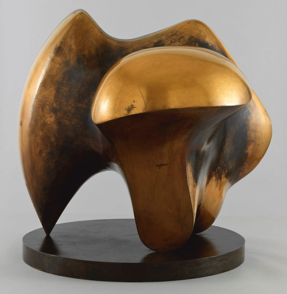 Henry Moore, Working Model for Three Way Piece No.1: Points, 1964, Tate: Presented by the artist 1978; LWL-Museum für Kunst und Kultur Münster; © Reproduced by permission of The Henry Moore Foundation / Foto: Tate, London 2016