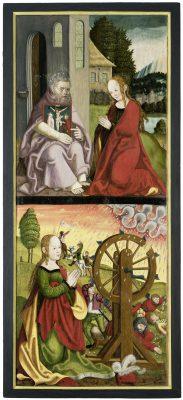 Peter Breuer und Werkstatt, sog. Callenberger Altar, linker Außenflügel, 1512/13, Grassimuseum für angewandte Kunst, Leipzig; © Grassimuseum für angewandte Kunst, Leipzig / Foto: Esther Hoyer