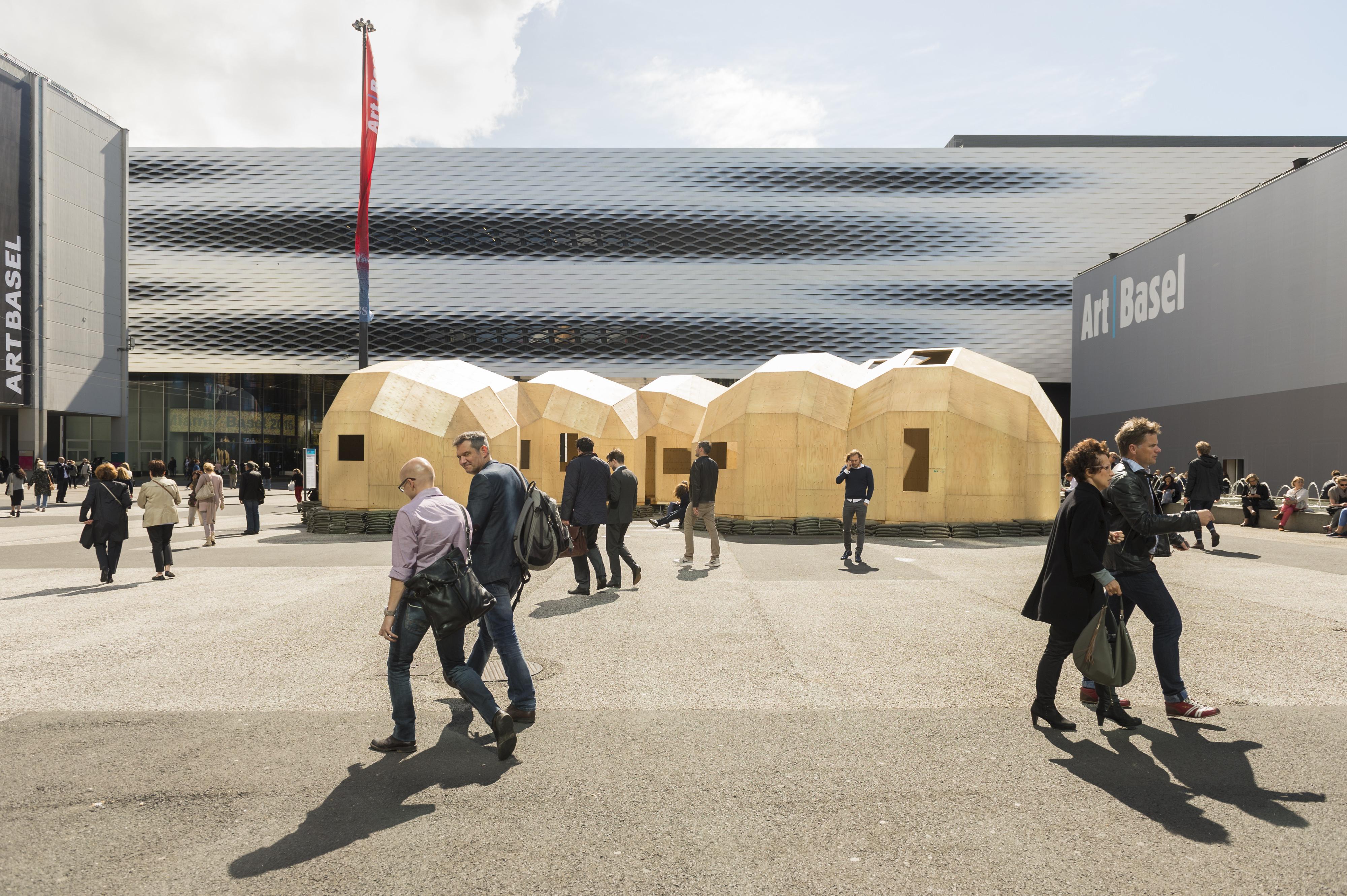 Am 13. Juni 2017 eröffnet die 48. Art Basel. © Art Basel