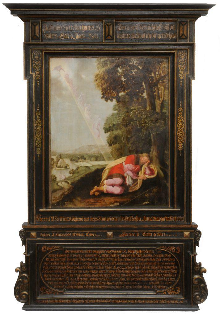 Michael Conrad Hirt (zugeschrieben), Epitaph für Heinrich Retzlow, 1642, Berlin, St.-Marienkirche; © Foto: Andreas Mieth
