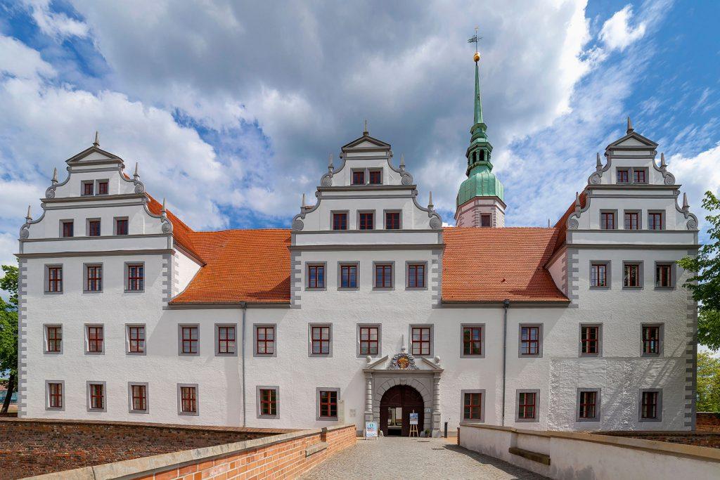 Schloss Doberlug, 1676 vollendet, © Foto: LKEE / Andreas Franke