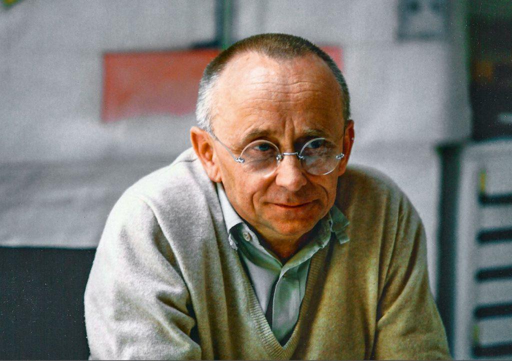 Der Architekt Heinz Bienefeld 1987, © Privat