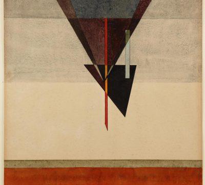 Wassily Kandinsky, Abstieg, 1925, 48 x 32 cm; Kunstmuseum Moritzburg Halle (Saale); © Moritzburg Halle (Saale)