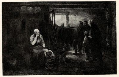 Jozef Israels, Durch Nacht zum Licht, o.J., Auktionskatalog Rudolph Lepke Berlin, 1934, Los-Nr. 43, © UB Heidelberg