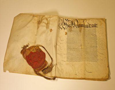 Rechtsbestätigung Kaiser Maximilians II. für die Familie von Schwendi, 14.10.1568; © Landesarchiv Baden-Württemberg, Staatsarchiv Freiburg