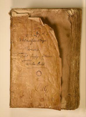 Güterverzeichnis der Familie von Windeck mit Wappen der Familie; 15./16. Jahrhundert; © Landesarchiv Baden-Württemberg, Staatsarchiv Freiburg
