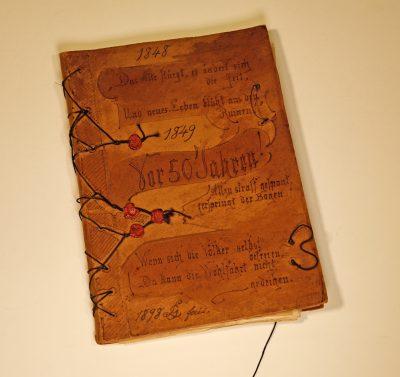 Revolutionserinnerungen mit Originalbriefen und Lithographien mit Revolutionsereignisse, 1848-1849; © Landesarchiv Baden-Württemberg, Staatsarchiv Freiburg