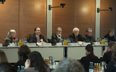 Pressekonferenz zum Start des Forschungsprojekts MARI in Berlin am 7. März 2017 in Berlin © Bernd Wannenmacher
