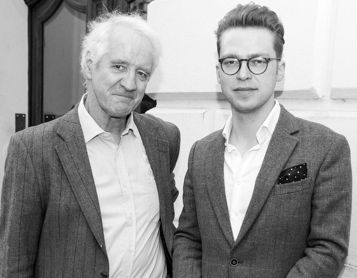Robert V. Lucius und Robert Eberhardt; © Foto: Anita Back