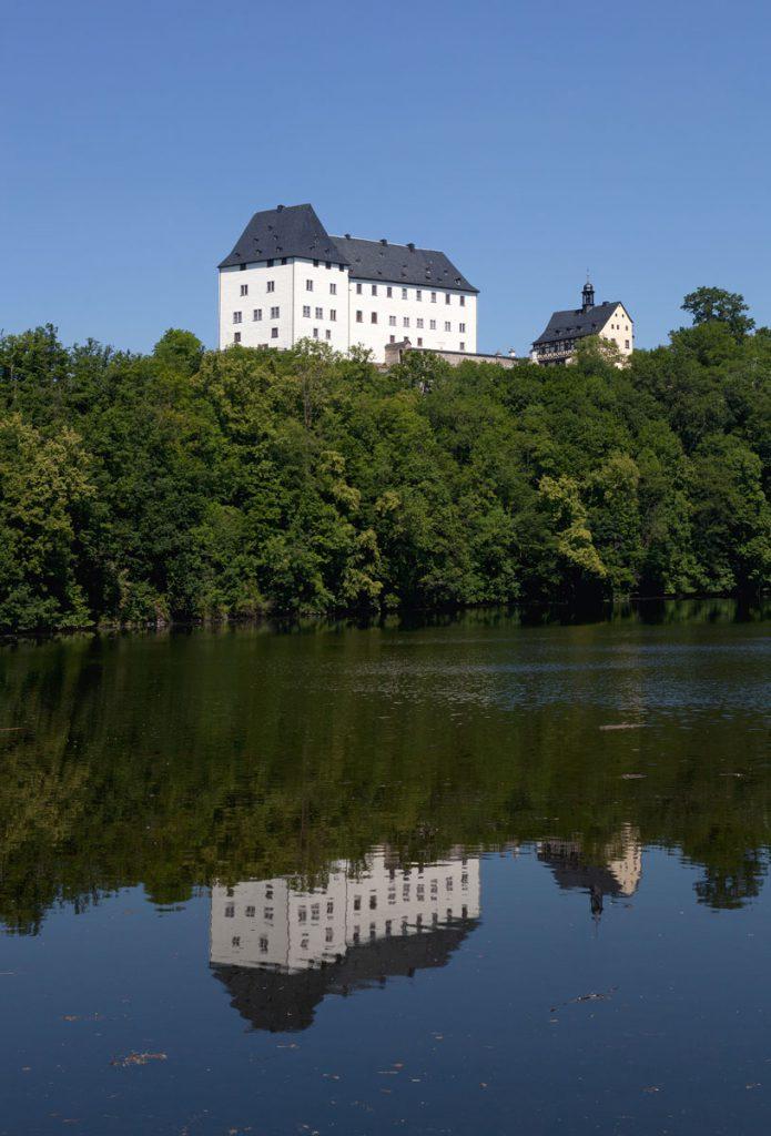 Schloss Burgk; © Museum Schloß Burgk / Foto: Constantin Beyer, Weimar