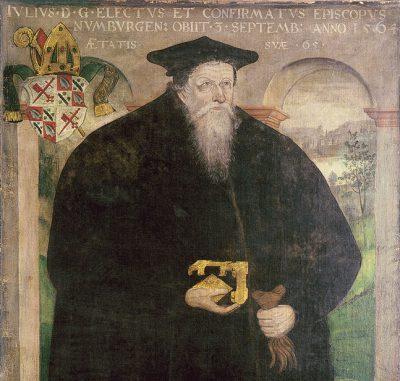 Julius von Pflug (Ausschnitt), undatiert, wohl nach 1546; Vereinigte Domstifter Naumburg; © Vereinigte Domstifter Naumburg