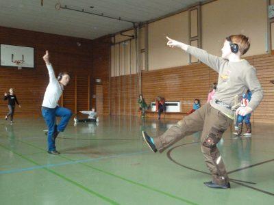 """Nominiert in der Kategorie """"Programme kultureller Bildung"""": FLUX – Theater für Schulen, Frankfurt am Main mit dem Beitrag """"FLUX – Theater in Hessen unterwegs.""""; © LIGNA"""
