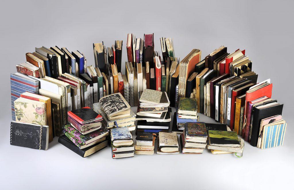 Tagebücher von Peter Handke der Jahre 1990 bis 2015; © Deutsches Literaturarchiv Marbach