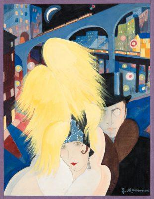 Jeanne Mammen, Die Großstadt, um 1927; Berlinische Galerie, Museum für Moderne Kunst; © VG Bild-Kunst, Bonn 2017 / Berlinische Galerie / Foto: Kai-Annett Becker