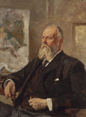 Max Klinger, Bildnis H.H. Meier jr., 1898, 100×75 cm; Kunsthalle Bremen; © Kunsthalle Bremen – Der Kunstverein in Bremen