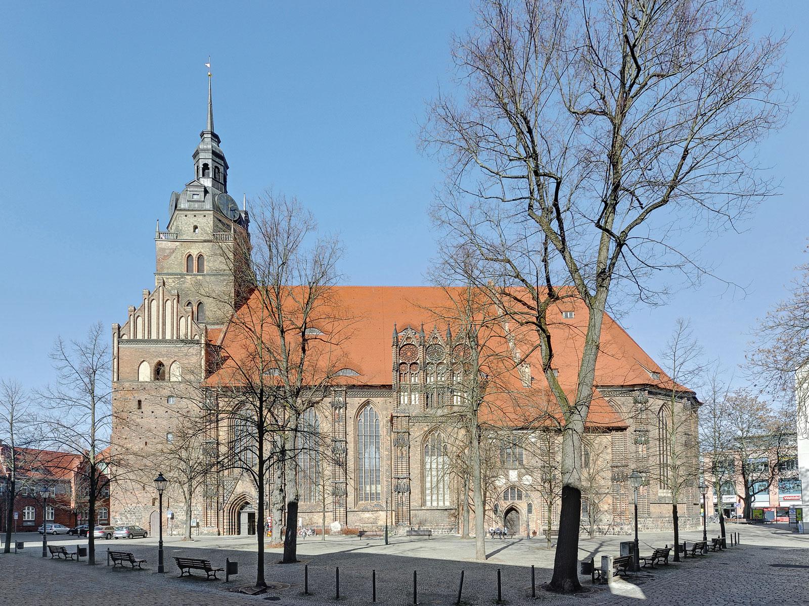 Die Pfarrkirche St. Katharinen in Brandenburg an der Havel; © Dr. Krekeler Generalplaner GmbH / Foto: S. Melchior