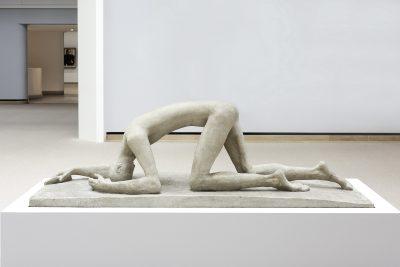 Wilhelm Lehmbruck, Der Gestürzte, 1915, Höhe: 78 cm, Breite: 240 cm, Tiefe: 82 cm; Staatsgalerie Stuttgart; © Staatsgalerie Stuttgart
