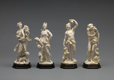 """Balthasar Permoser, Die vier Jahreszeiten: """"Frühling"""", """"Sommer"""", """"Herbst"""" und """"Winter"""", 1695; Herzog Anton Ulrich-Museum, Braunschweig; © Foto: Claus Cordes, HAUM"""