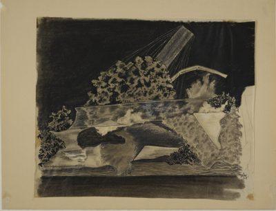 Alfred Arndt, o.T. (Materialstudie aus dem Vorkurs-Unterricht bei Johannes Itten), 1921, 21 × 25,7 cm; Stiftung Bauhaus Dessau; © VG Bild-Kunst, Bonn 2017