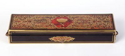 Prunkschatulle des Thomas-Arithmomètre für Zar Nicolas I., 1851, 60 x 16 x 9,5 cm; © Arithmeum, Rheinische Friedrich-Wilhelms-Universität Bonn