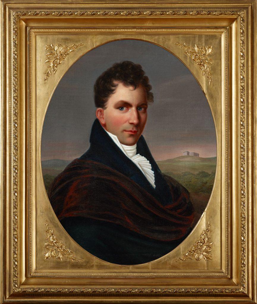 Louise Seidler, Porträt Bernhard August von Lindenau, 1811, 76×60 cm; Lindenau-Museum Altenburg; © Foto: PUNCTUM / Bertram Kober