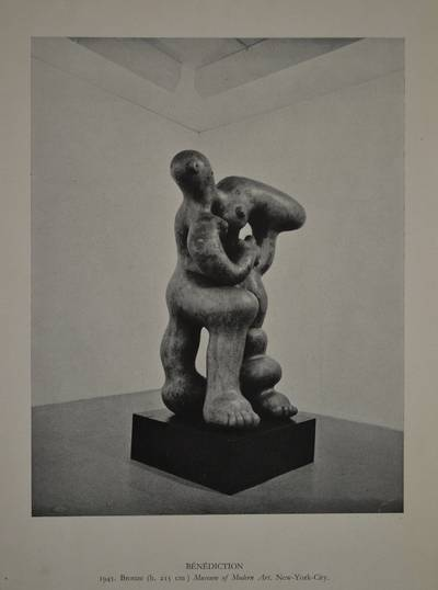 Jacques Lipchitz, Benediction, um 1946; Museum of Modern Art, New York; © 2017 All Rights Reserved, Estate of Jacques Lipchitz