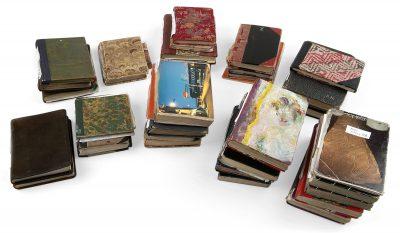 Peter Handkes Notizbücher von 1990 bis 2015; Deutsches Literaturarchiv Marbach; © Deutsches Literaturarchiv Marbach / Foto: Chris Korner