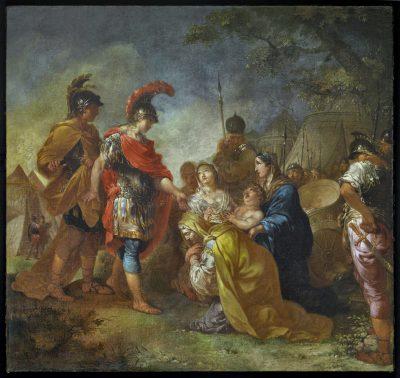 Januarius Zick, Alexander der Große und die Familie des Darius, 1780/90; Mittelrhein-Museum, Koblenz; © Galerie Neuse