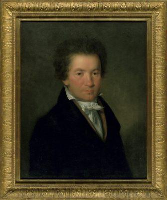 Willibrord Joseph Mähler, Porträt von Ludwig van Beethoven, 1815, 67 × 55 cm; Beethoven-Haus Bonn