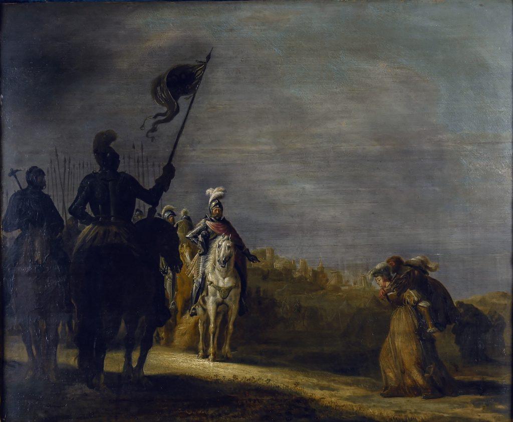 Gerrit Claesz. Bleker, Weiber von Weinsberg, 1624; Weibertreu-Museum Weinsberg; © P+ Fotografie, Agentur für Bildgestaltung / Foto: Pierre Gattinger