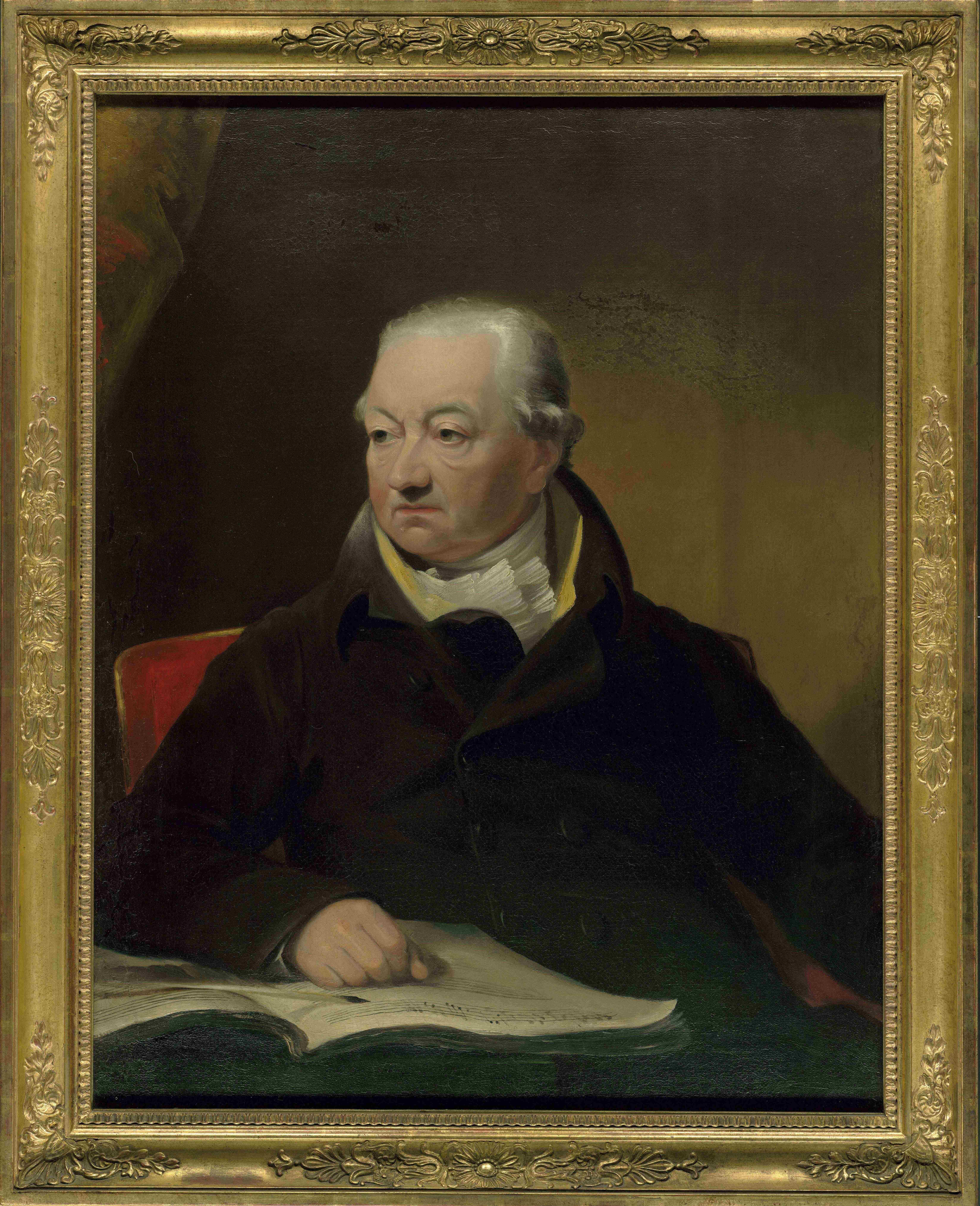 James Lonsdale, Porträt von Johann Peter Salomon, um 1815, 91 × 70 cm;  Beethoven-Haus Bonn