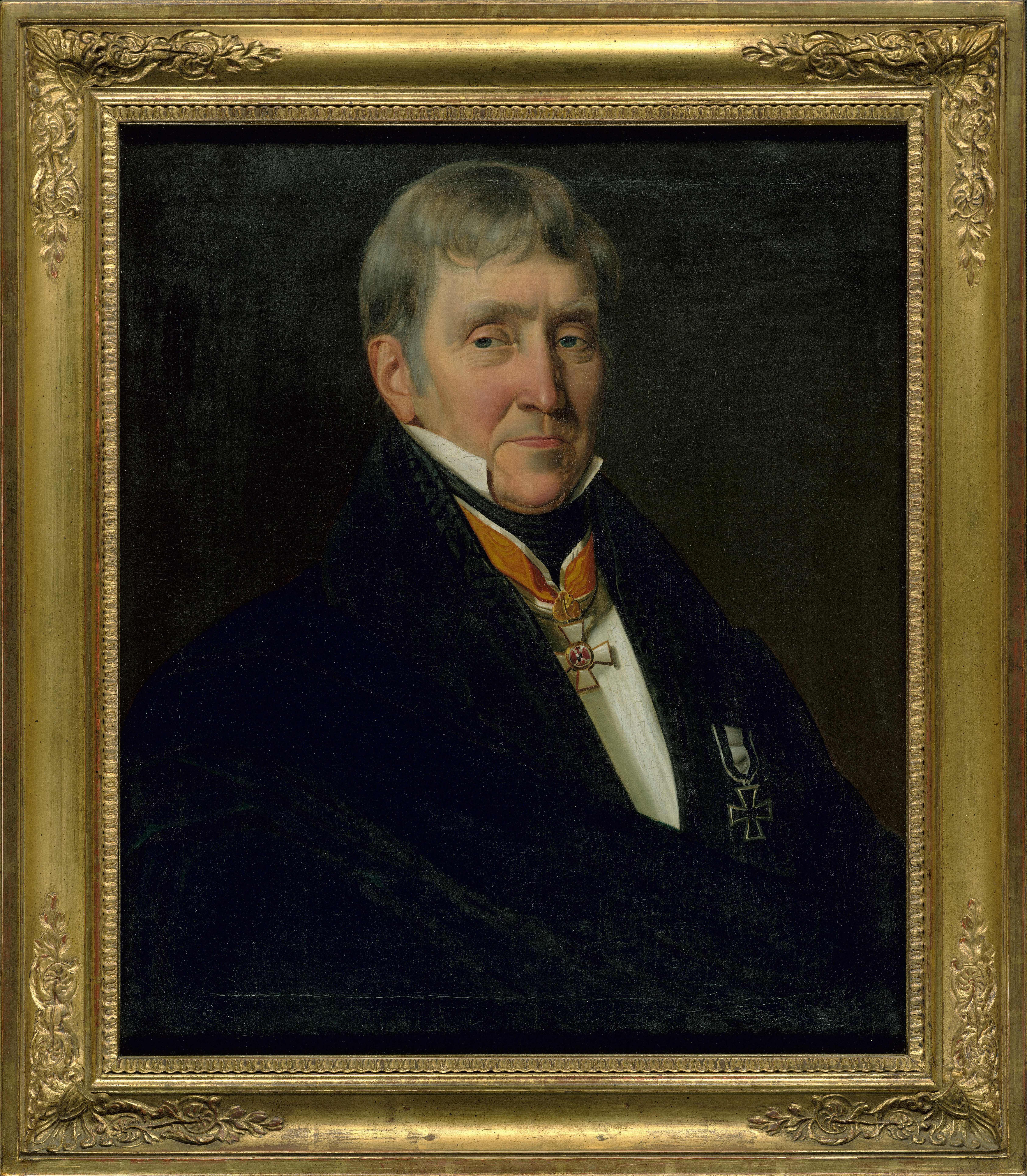 Johann Heinrich Richter, Porträt von Franz Gerhard Wegeler, 1839, 63 × 53 cm; Beethoven-Haus Bonn