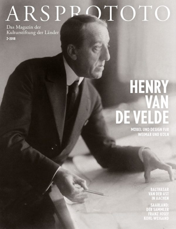 Henry van de Velde, um 1913, fotografiert von Louis Held; © Klassik Stiftung Weimar, Werkverzeichnis Henry van de Velde / Foto: Louis Held