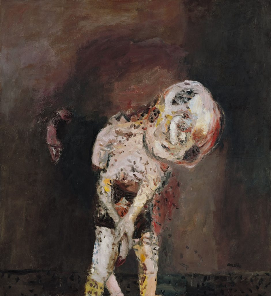 Georg Baselitz, Große Nacht im Eimer, 1962-63, 185 x 165 cm; Privatbesitz; © Georg Baselitz