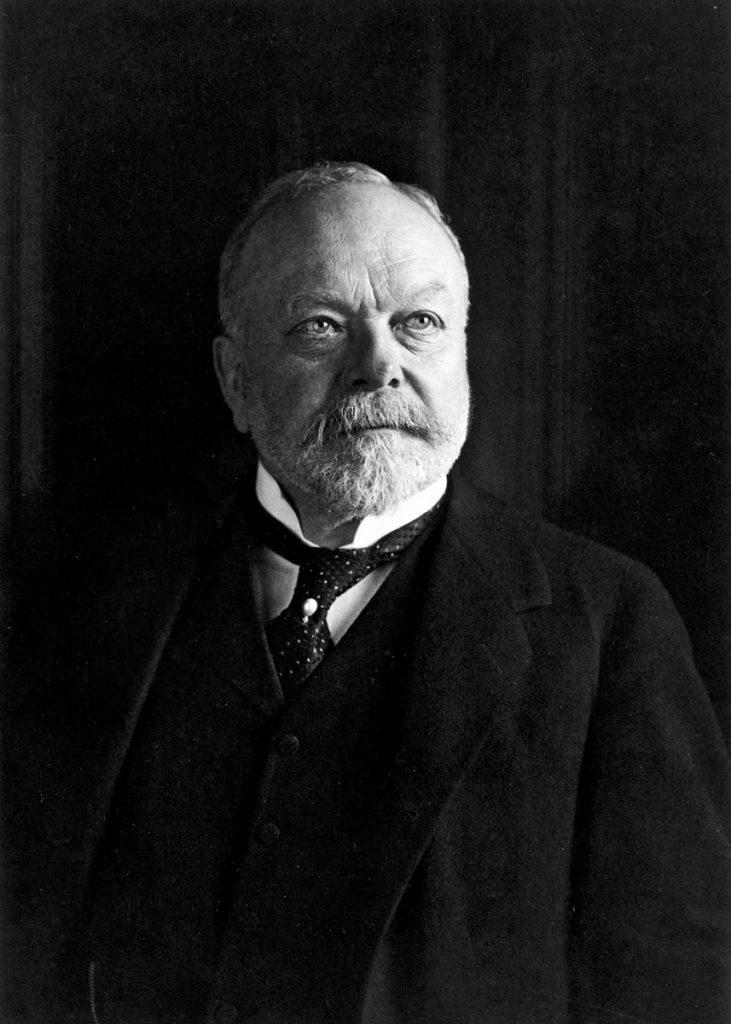 Rudolf Mosse, um 1910; © bpk / Courtesy of the Leo Baeck Institute, New York