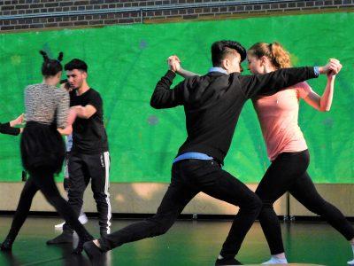Berufskolleg Alsdrof: Dance Together; © Foto: Yannick Longerich