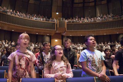 Städtischer Musikverein zu Düsseldorf e.V. gegr. 1818: SingPause-Konzerte in der Tonhalle Düsseldorf; © Musikverein zu Düsseldorf