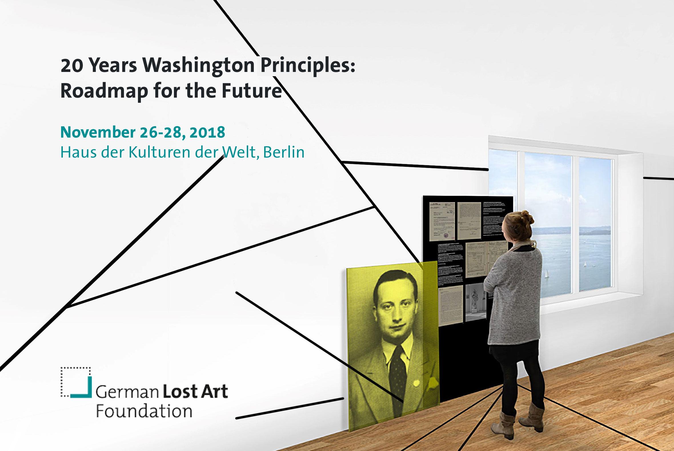 """Internationale Fachkonferenz """"20 Jahre Washingtoner Prinzipien: Wege in die Zukunft"""""""