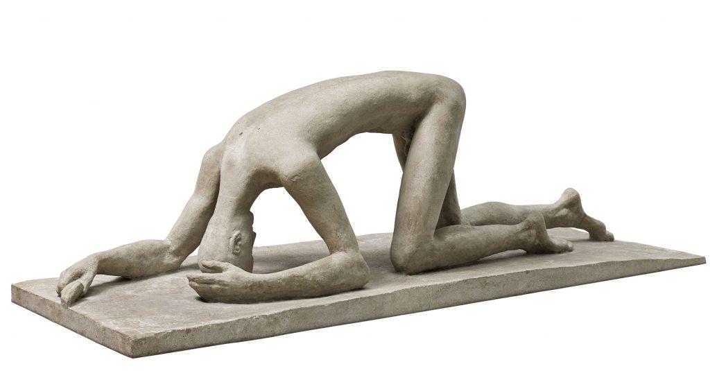 Wilhelm Lehmbruck, Der Gestürzte, 1915/16, 78 × 240 × 82; Staatsgalerie Stuttgart; © Staatsgalerie Stuttgart