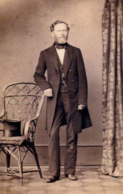 Gustav Ferdinand Thaulow, 1862; © Schleswig-Holsteinische Landesbibliothek, Kiel / Foto: J. M. Graak