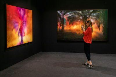 Julian Charrière, Bilder aus der Serie First Light, 2016; Galerie Sies + Höke, Düsseldorf © Julian Charrière / Art Basel